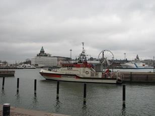 Helsinki South Harbour - view from the site