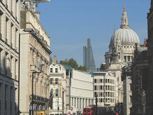 St Paul's from Ludgate Circus