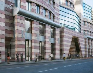 Buckley Gray Yeoman's No1 Poultry proposal looking east down Queen Victoria Street