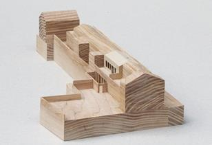 Atherden Road, Lower Clapton - model by Hugh Strange Architects