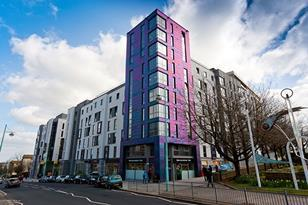 Astor House, a £21m student residential building in Plymouth, uses Marley's HDPE soil and waste products and eight-way collar boss