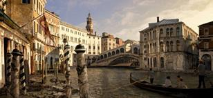 A limestone-like substance produced by protocells could save Venice from sinking.