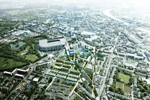 Make's proposed masterplan for Newcastle's Science City
