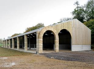 Shatwell Farm cowshed, Somerset by Stephen Taylor Architects