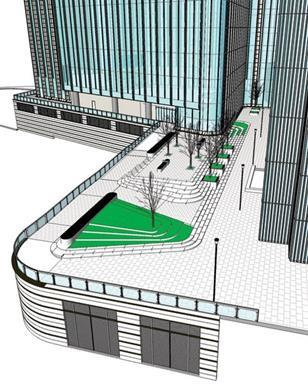 HOK used BIM for its design of 5 Churchill Place at Canary Wharf.