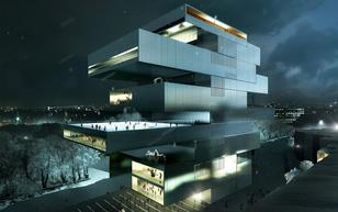Heneghan Peng's National Centre for Contemporary Art, Moscow