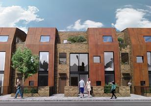 Architecture Initiative's Revelstoke Road scheme increases the area's typical density of 50 dph to 161 dph