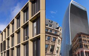 Rafael Vinoly: An architect of two parts. His RIBA Award-winning maths institute at Oxford, left, and his Carbuncle Cup-winning Walkie Talkie