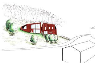 Julian Kinal's eco-house in Sylling, Norway