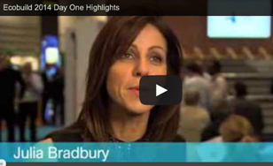 Ecobuild video day 1