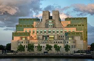 MI6 building by Terry Farrell
