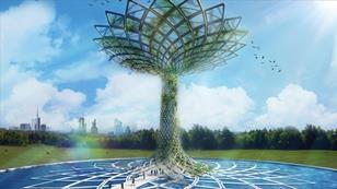 The tree of life for the Italian Pavilion at the Milan Expo 2015