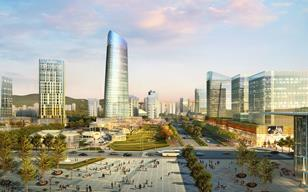 Atkins - high-speed rail development in Shangrao, China