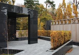 PSNI Memorial Garden, Belfast, by Hall McKnight Architects