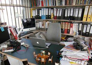 Daisy Froud's desk