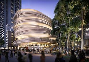 Kengo Kuma - The Darling Exchange in Sydney