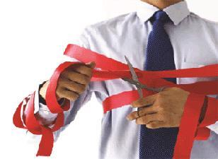 red tape on building regs