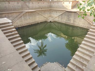 Stepwell in Ramkund, Bhuj, Gujarat, India. From The Vanishing Stepwells of India by Victoria Lautman