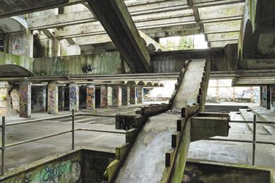 St Peter's Cardross in dereliction