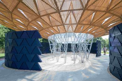 Serpentine Pavilion 2017, designed by Francis Kéré