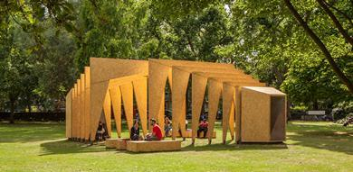 Triumph Pavilion Bethnall Green IPT Architects