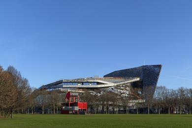 Philharmonie de Paris: West elevation