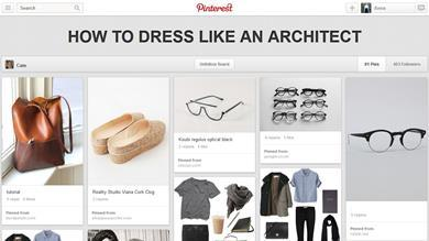 How to dress like an architect Pinterest board by Cate St Hill