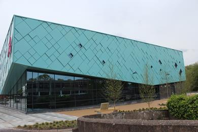 Northwich Memorial Court leisure centre designed by Ellis Williams Architects
