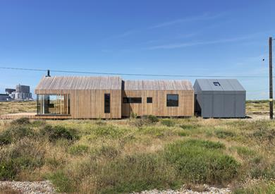 Pobble House Dungeness, Kent Guy Hollaway Architects