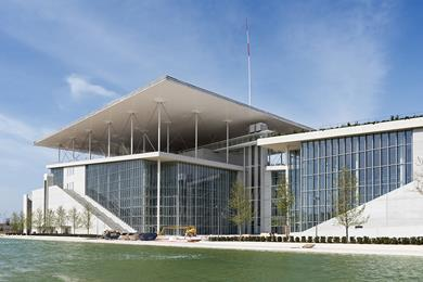 Renzo Piano's New Cultural Center in Athens