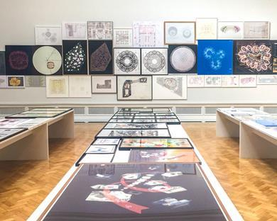 Farshid Moussavi's architecture rooms at the Royal Academy's Summer Exhibition 2017