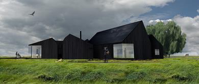 Great Fen Visitor Centre by Shiro Studio