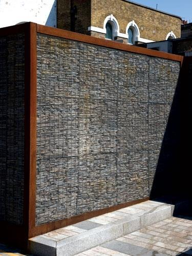 Mesh for gabion walls from hy ten features building design Gabion wall design