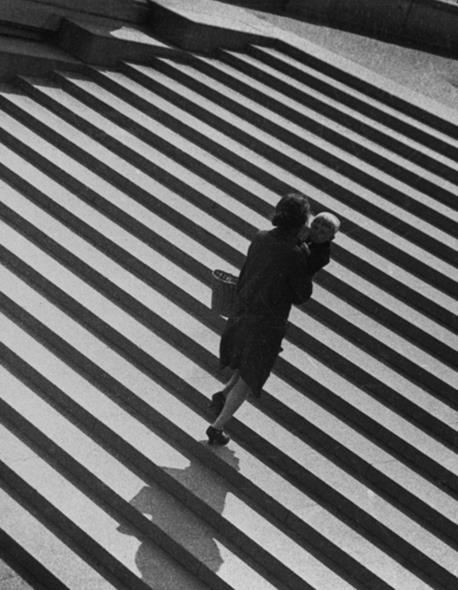 The search for the new view: Alexander Rodchenko, Stairs, 1930.