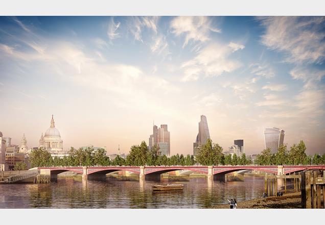 Allies Morrison proposes cut price Garden Bridge News