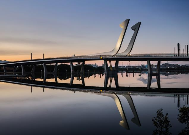 Lower Hatea River Crossing, Whangarei, New Zealand, Knight Architects