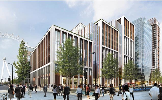 Squire & Partners' Shell Centre masterplan