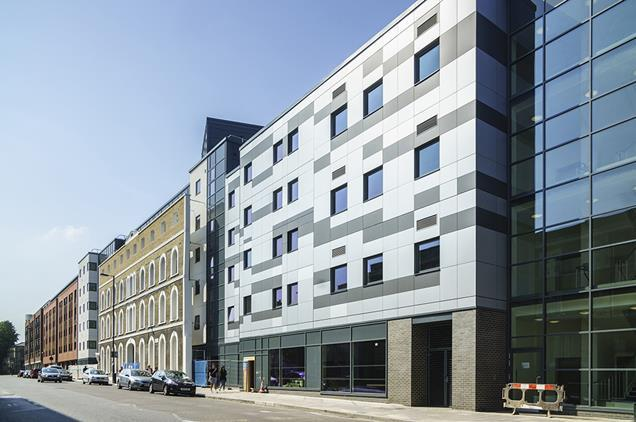 UCL's student block, 465 Caledonian Road by Stephen George & Partners