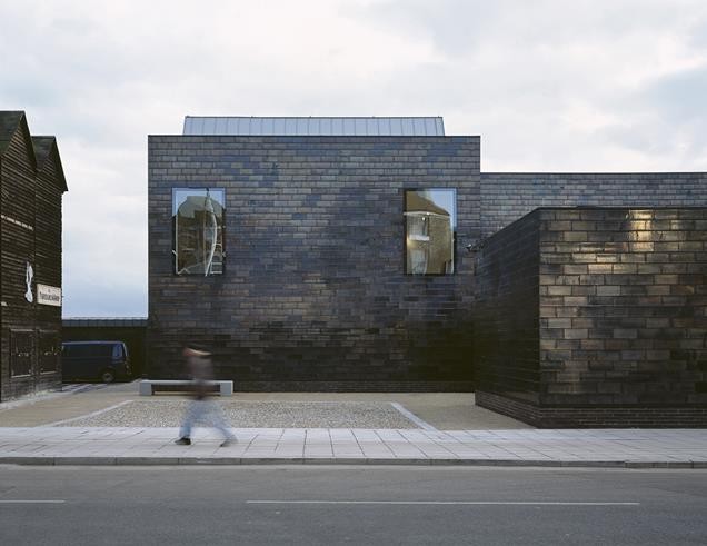 Jerwood Gallery, Hastings by HAT Projects