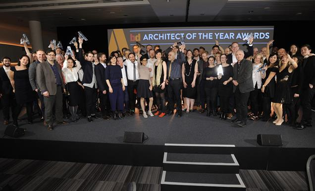 All the winners of BD's 2016 Architect of the Year Awards