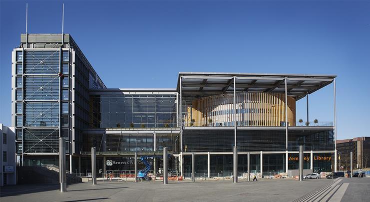 Hopkins Architects' Brent Civic Centre