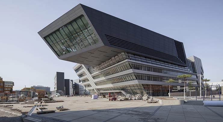 Helsinki university main library di anttinen oiva for Zaha hadid vienna